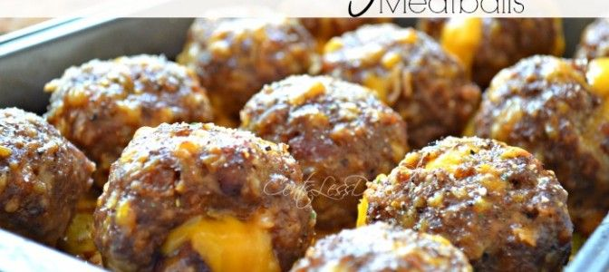 1 lb of ground meat, egg, tbl four, tbl milk, 1/2# bacon crumbled, 1/4 cp crushed french fried onions, 8 oz cubed cheddar cheeze: combine all except cheeze. form into balls, stuff cheeze cube into each ball and enclose, place on foil lined cooking sheet, bake at 375 for 20-25 min or until done.