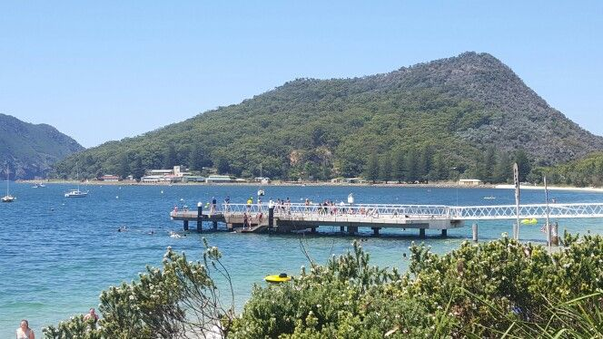 Shoal Bay jetty