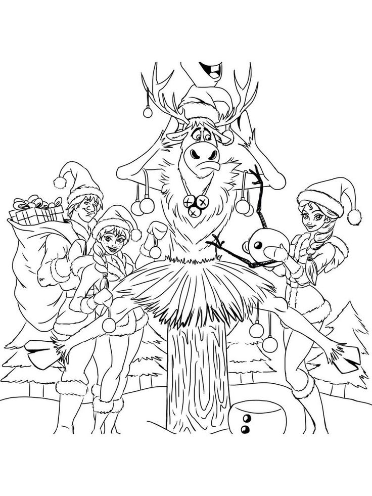 elsa anna frozen coloring page. Who doesn't know the