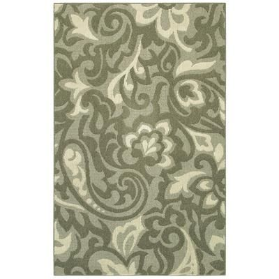 Mohawk Home Area Rug Forte Taupe 5 Feet X 8 77 Depot