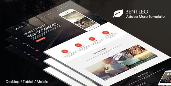 Bentileo - Multipurpose Muse Template . Bentileo is a multipurpose muse template. You can use this template for all kind of agency, corporate and portfolio websites. This is an easy to edit website template. You can edit each and every part of this template according to your