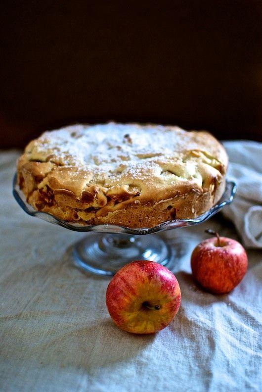 Pastel de manzana, receta italiana con Thermomix