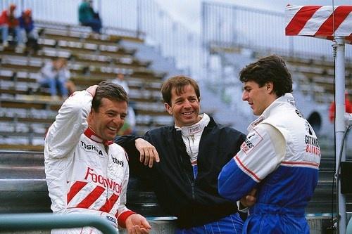 Derek Warwick , Martin Brundle , Mark Blundell  1993