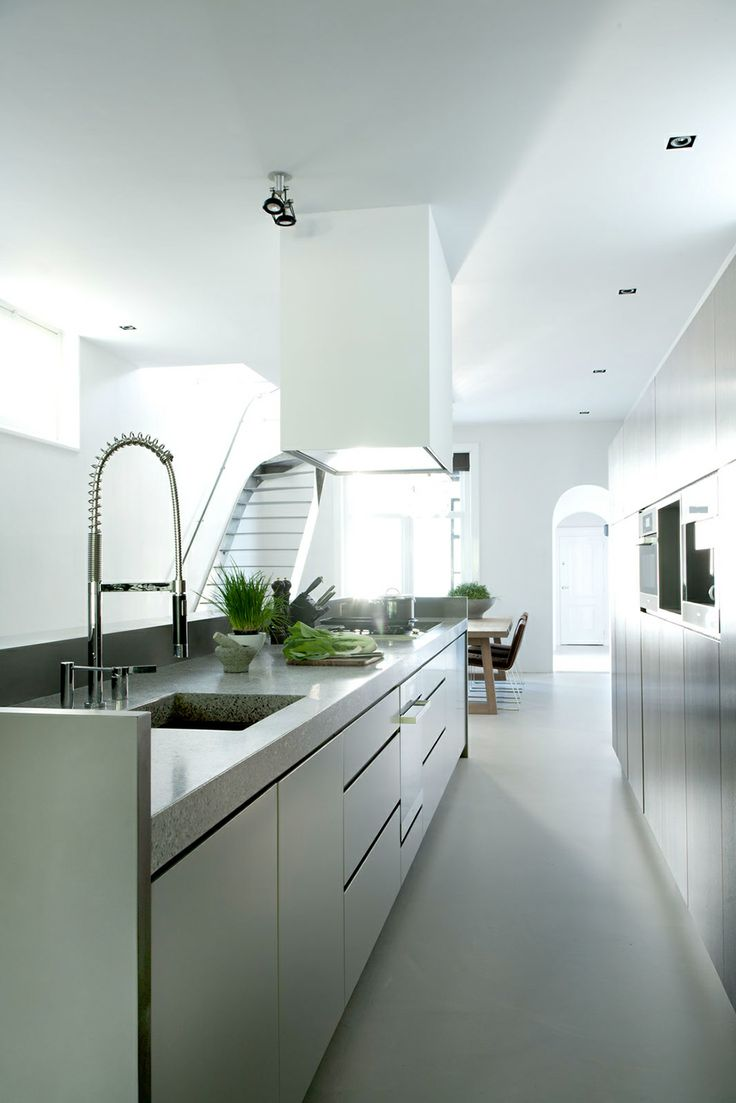 Details Kitchen Historic Canal House and Office in Utrecht by Remy Meijers