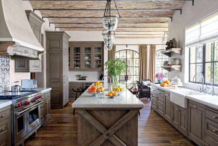 Кухни знаменитостей: собираем интерьеры – Вдохновение Жизель Бундхен