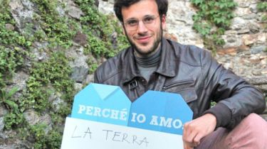 "Sebalter says: ""Because I love Earth."""