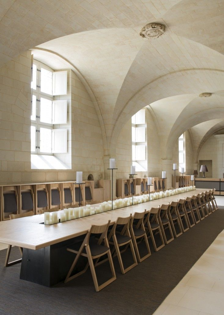 One of the Loire Valley's great landmarks, the 12th-century Fontevraud Abbeyhas played many roles over the years, from monastery to prison (not to mention