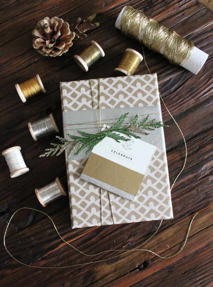 Expert Tips for Gorgeous Gift Wrap | Simone LeBlanc for @Domaine Furnishings Furnishings