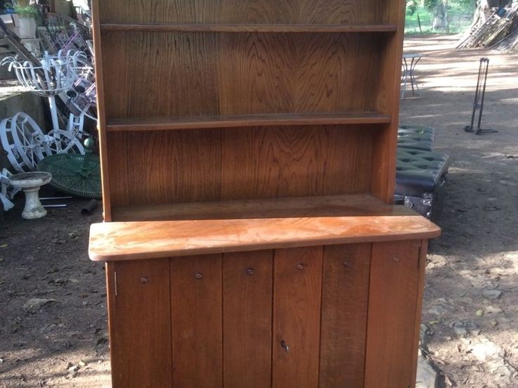 This is from the 1920s a Globe Vennicker style if not exactly that! Lovely old oak dresser and we have others to view in good wood and painted vintage so try the Barn for tables and chairs too!