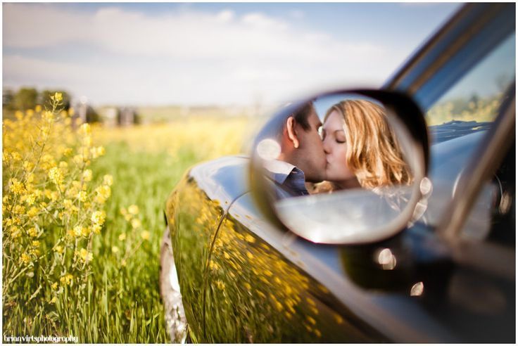 Valerie & Nick, Summer Engagement, Concept Engagement Photos, Convertible, Frederick Maryland Wedding Photographers