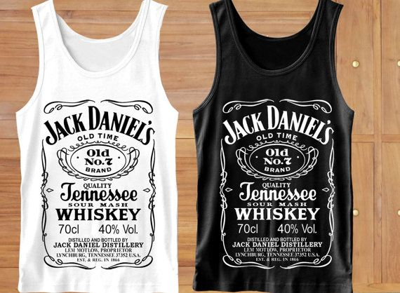 Jack Daniels Tank Top Jack Daniels Clothing Jack by MakLampirr, $15.99
