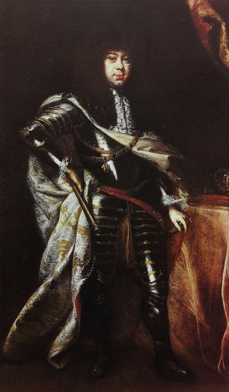 Portrait of Michael Korybut Wiśniowiecki by Daniel Schultz, ca. 1669 (PD-art/old), Zamek Królewski na Wawelu