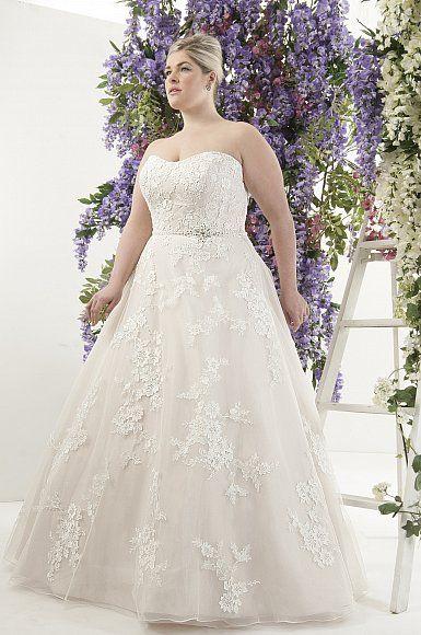 Brautkleider große Größen: Festliches in Übergröße | Seite 4