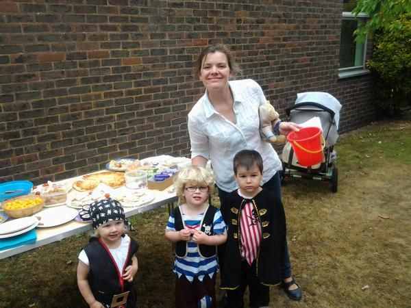 We enjoyed a pirate party at Frimley Green Library to celebrate our last Storytime of the term.