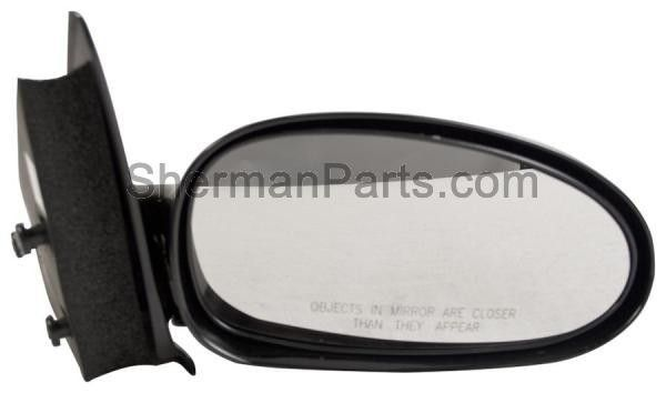 1997-2002 Saturn S-Series Coupe Mirror Manual RH