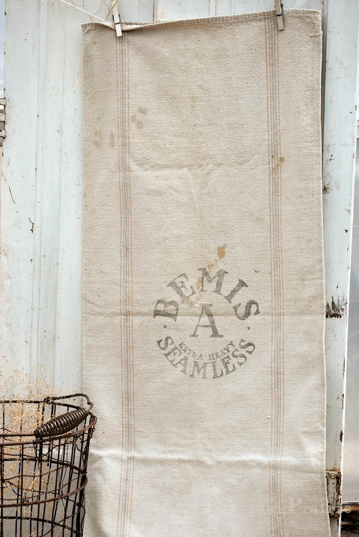 Maybe put name and own initials then transfer onto burlap