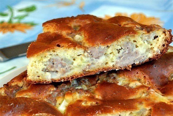The meat pie «easy as pie»