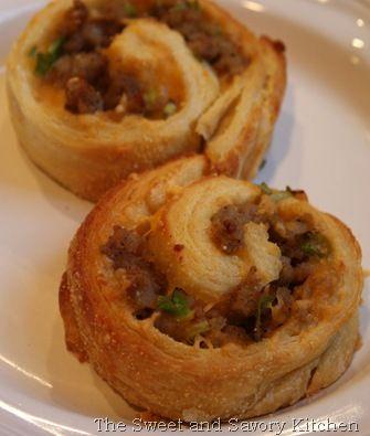 Recipe for Sausage Pinwheels