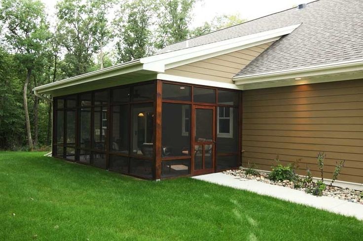 Cedar Screened Porch Interior Timber Creek Ideas For The House Porch Interior Home Decor
