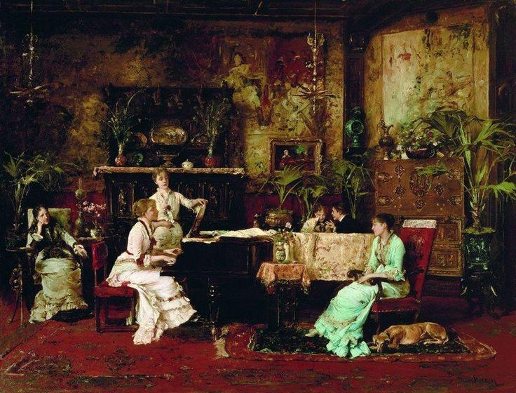 10690159_1498366840453043_1329354366377476465_n.jpg Munkácsy Mihály magyar festő (1844-1900) A zeneszoba, 1878 Metropolitan Museum(800×609)
