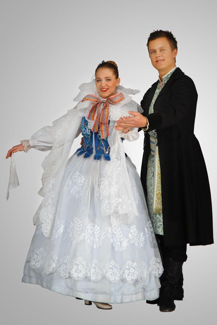 Strój mieszczan żywieckich-costume of townsfolk from Żywiec