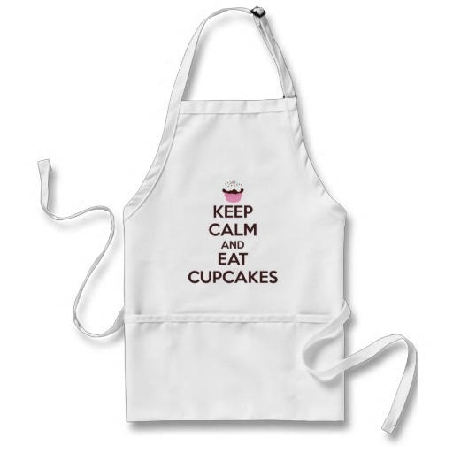 Keep Calm and Eat Cupcakes Apron- that's a keeper apron!