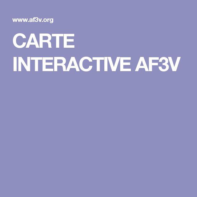 CARTE INTERACTIVE AF3V
