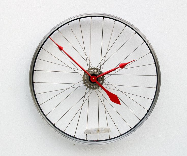 Bike Design Wall Clock : Ideas about large wall clocks on big