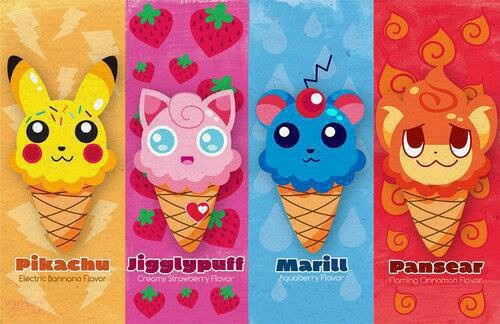 Pokemon Ice Cream | Pokémon | Pinterest | Ice, Pokemon and ...