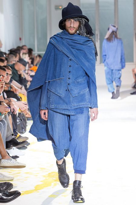 Yohji Yamamoto S/S 15 http://www.style.com/fashionshows/complete/slideshow/S2015MEN-YJIYMOTO/