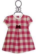 Mayoral Red Holiday Dress for Infants (Sizes 0 to 9 Mos)