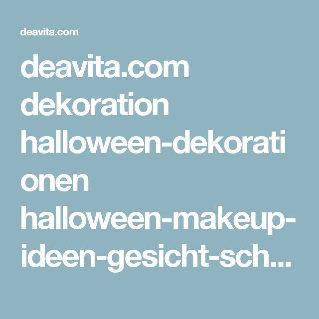 deavita.com dekoration halloween-dekorationen halloween-makeup-ideen-gesicht-schminken.html