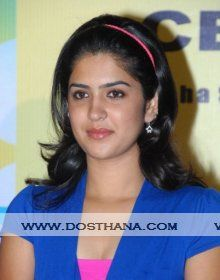 Deeksha Seth biography, profile, biodata, height, age, Date of birth, siblings, wiki, family details. Deeksha Seth profile, Image gallery link with profile details