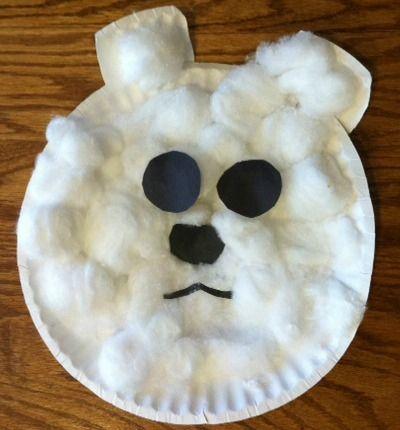 Paper Plate Polar Bear! 10+ Fun Snow Themed Activities | ParentSavvy @Julie {Family Fun in Omaha}