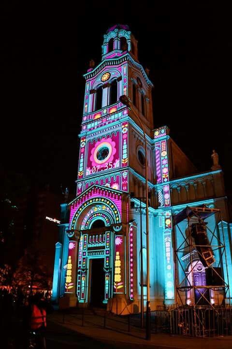 Light move festival, Lodz, Poland