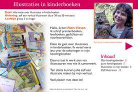 Les en workshop Illustraties maken - Leesbevordering, creatief schrijven en nieuwe media voor het onderwijs - rianvisser.yurls.net
