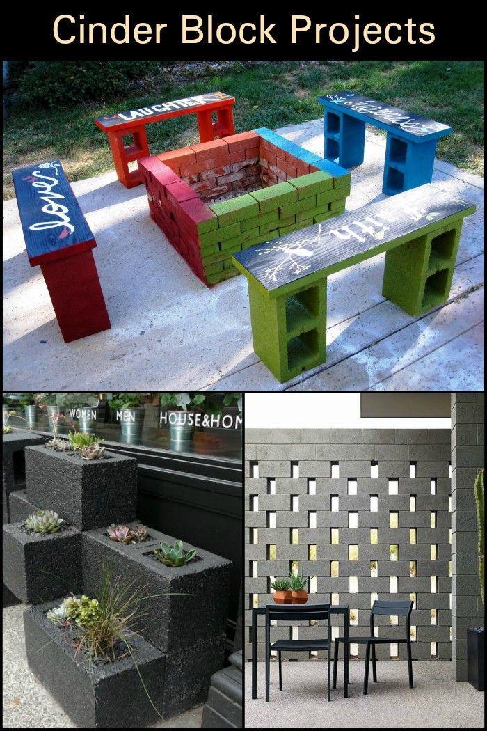 Cinder Block Projects Diy Blocks Cinder Block Recycled House