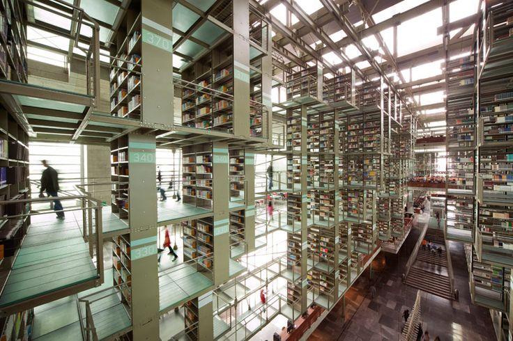 biblioteca vasconcelos by TAX arquitectura | alberto kalach