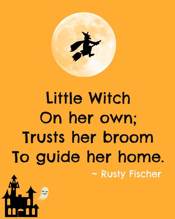 Little Witch. A Halloween Poem