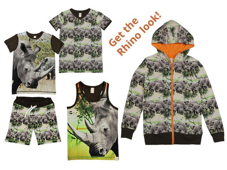 WILD kidswear lente/zomer 2015 Get the Rhino look! Paradekids.nl