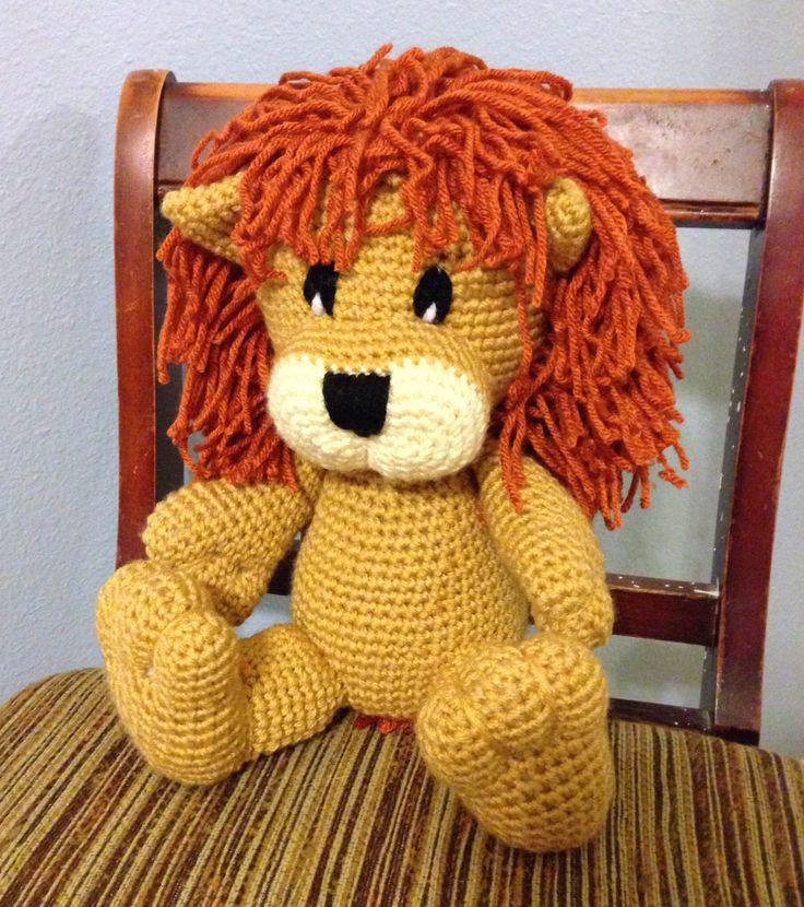 Free Knitting Pattern Toy Lion : 17 Best images about Amigurumi Lion on Pinterest Toys, Yarns and Crochet