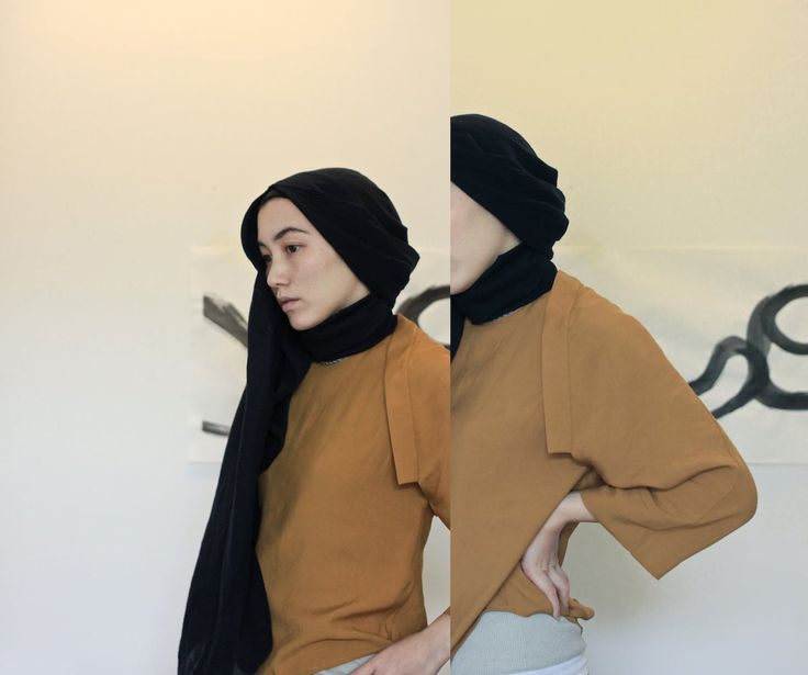 Hana Tajima Uniqlo 2015 Fall hijab