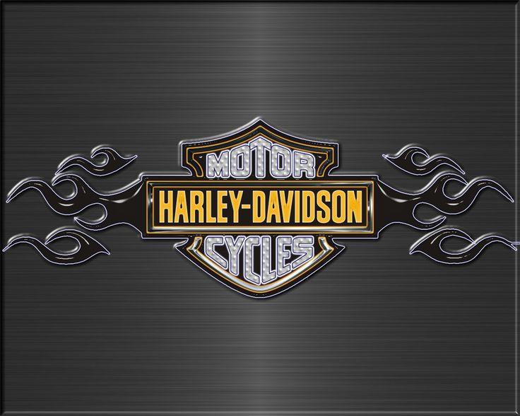Harley Davidson Flames Wallpaper