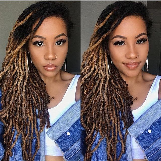 Love The Hair Color Locs Hairstyles Natural Hair Styles Cool Hairstyles