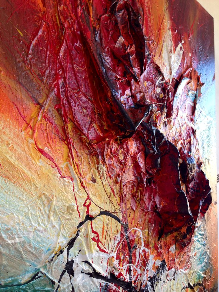 New 3D painting by Dan Bunea, 3D living abstract paintings, www.danbunea.ro