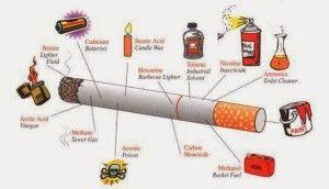 Αν σκέφτεσαι να κόψεις το κάπνισμα Για διάβασε λίγο τι ουσίες περιέχουν τα τσιγάρα και θα πειστείς!