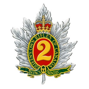 Badge of The Queen's Own Rifles of Canada