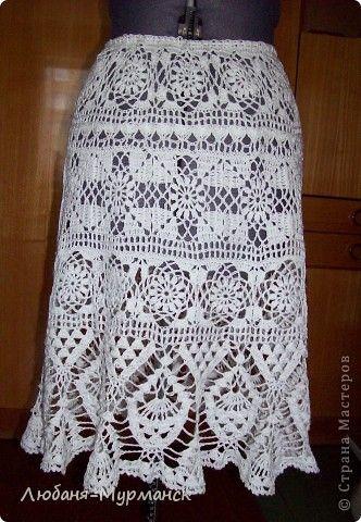 Гардероб Вязание крючком Кофточка и юбка крючком Нитки фото 4