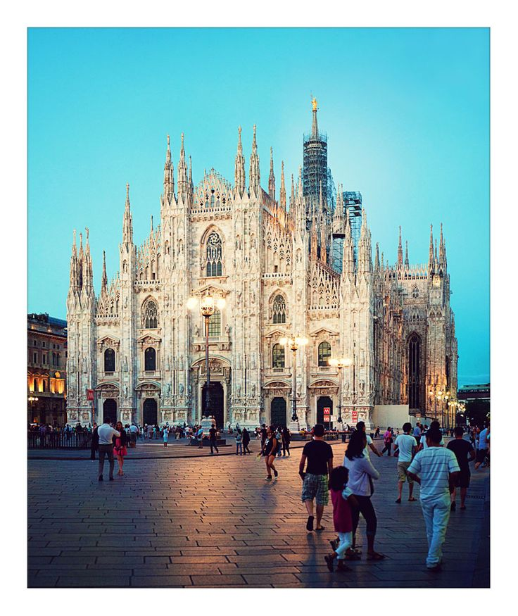 Milano. Favorite memory: buying matching Fendi baguettes with my best friend in La Rinascente. Next visit: i Fratelli Prada...