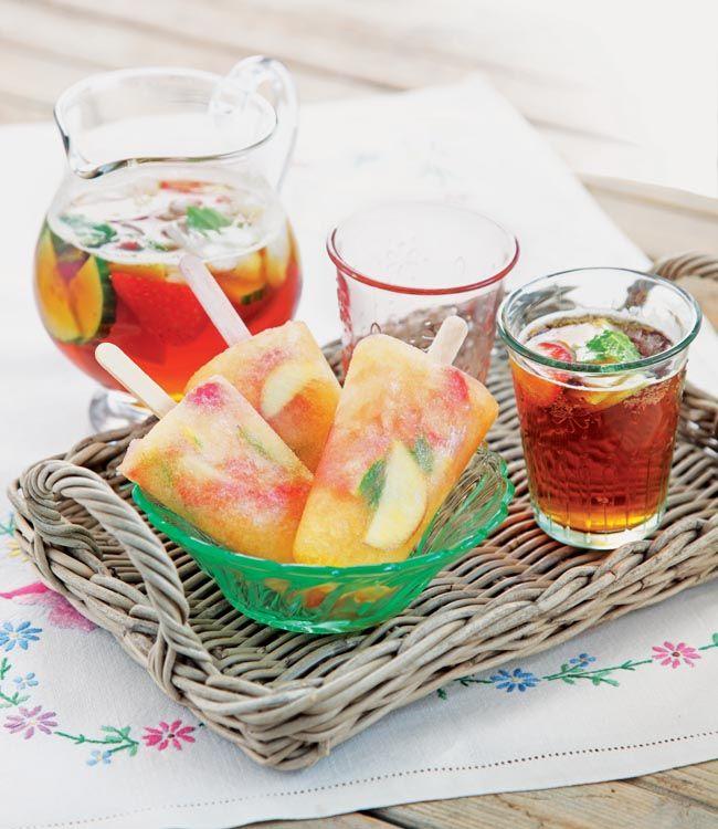 Pimm's ice-lolly recipe
